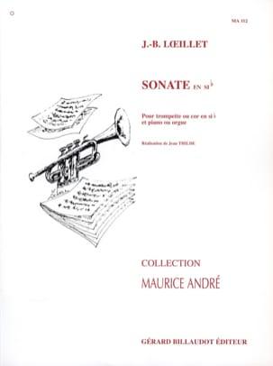 Sonate en sib LOEILLET Partition Trompette - laflutedepan