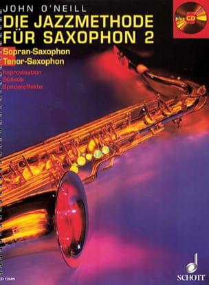 Die Jazzmethode Für Bb Saxophon 2 Neill John O' Partition laflutedepan