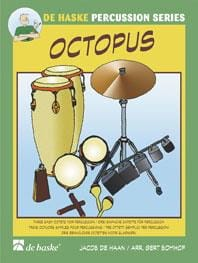 Octopus Jacob De Haan Partition Ensemble de percussions - laflutedepan