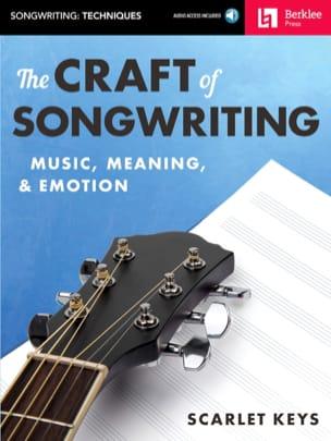 The Craft of Songwriting Scarlet Keys Livre Jazz - laflutedepan