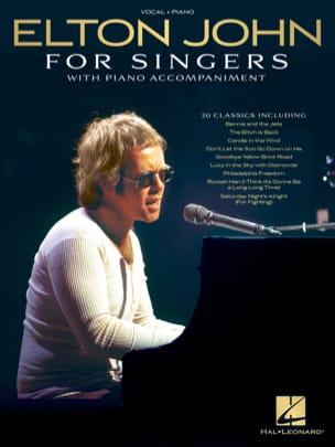 Elton John for Singers Elton John Partition Pop / Rock - laflutedepan