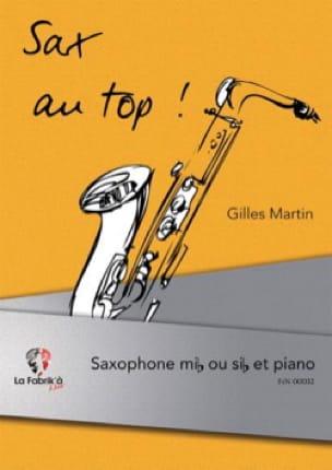 Sax au top ! - Gilles Martin - Partition - laflutedepan.com
