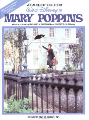 DISNEY - Mary Poppins - Vocal Auswahl - Partition - di-arezzo.de