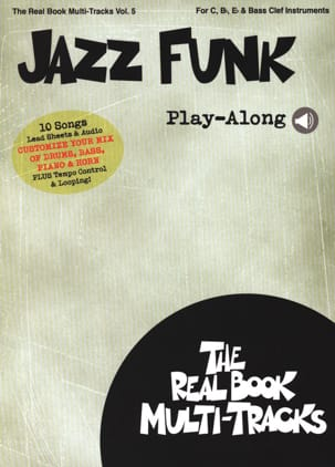 Real Book Multi-Tracks Volume 5 - Jazz Funk Play-Along - laflutedepan.com