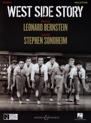 West Side Story BERNSTEIN Partition Comédie musicale - laflutedepan