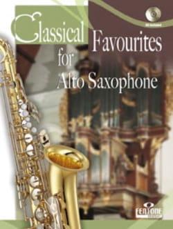 Classical Favorites For Alto Saxophone Partition laflutedepan