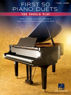 First 50 Piano Duets You Should Play Partition Piano - laflutedepan