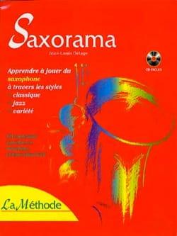 Saxorama la Méthode Partition Saxophone - laflutedepan