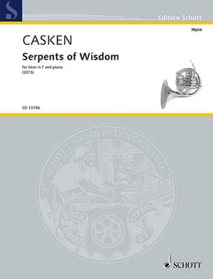 Serpents of Wisdom - John Casken - Partition - Cor - laflutedepan.com