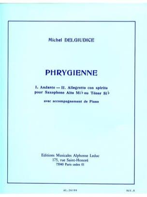 Phrygienne - Michel Del Giudice - Partition - laflutedepan.com