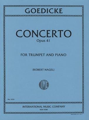 Alexander Goedicke - Concerto Opus 41 - Partition - di-arezzo.com