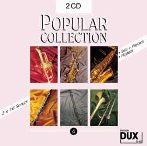 CD Popular collection volume 4 Partition Saxophone - laflutedepan