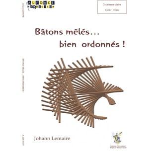 BÂTONS MÊLÉS... BIEN ORDONNÉS ! Johann Lemaire Partition laflutedepan