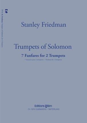 Trumpets Of Solomon - Stanley Friedman - Partition - laflutedepan.com