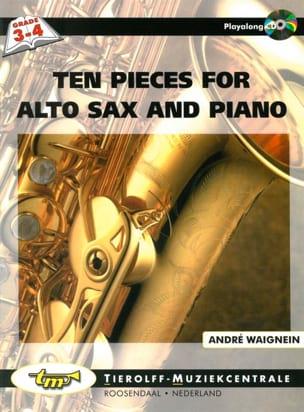 Ten Pieces For Alto Sax And Piano André Waignein laflutedepan