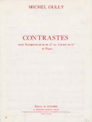 Contrastes - Michel Gully - Partition - Trompette - laflutedepan.com