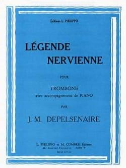 Légende Nervienne Jean-Marie Depelsenaire Partition laflutedepan