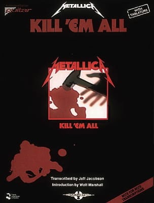 Metallica - Kill 'em All - Partition - di-arezzo.co.uk