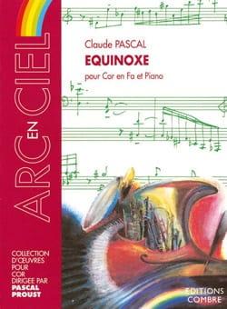 Claude Pascal - Equinox - Partition - di-arezzo.co.uk