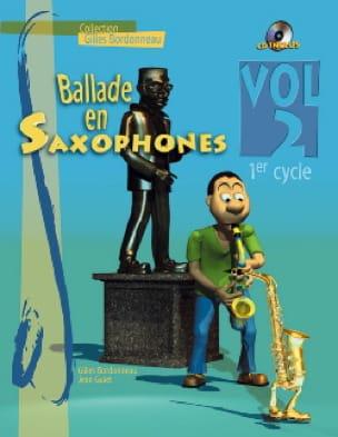 Ballade En Saxophones Volume 2 - 1er Cycle - laflutedepan.com