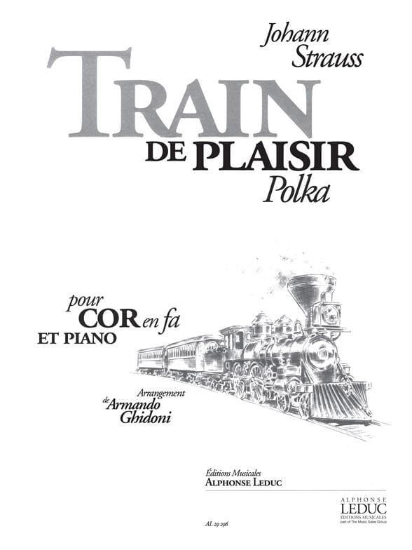 Train de Plaisir Polka - Johann Strauss - Partition - laflutedepan.com