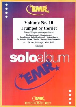 Solo Album Volume N° 10 - Partition - Trompette - laflutedepan.com