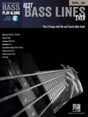 Bass Play-Along Volume 46 Best Bass Lines Ever laflutedepan