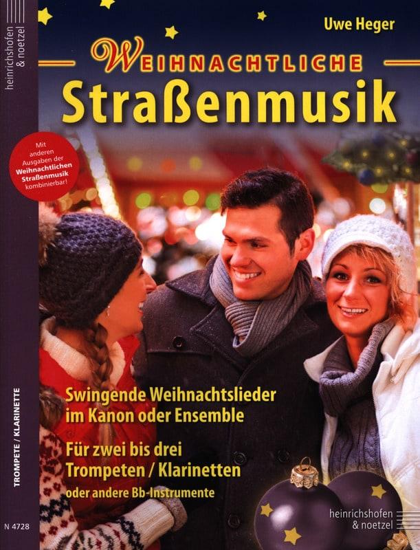 Weihnachtliche Straßenmusik - Noël - Partition - laflutedepan.com