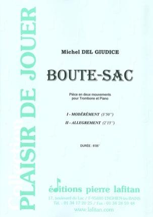 Boute-Sac Michel Del Giudice Partition Trombone - laflutedepan