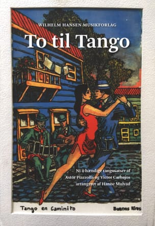 To Til Tango Astor Piazzolla Partition Piano - laflutedepan