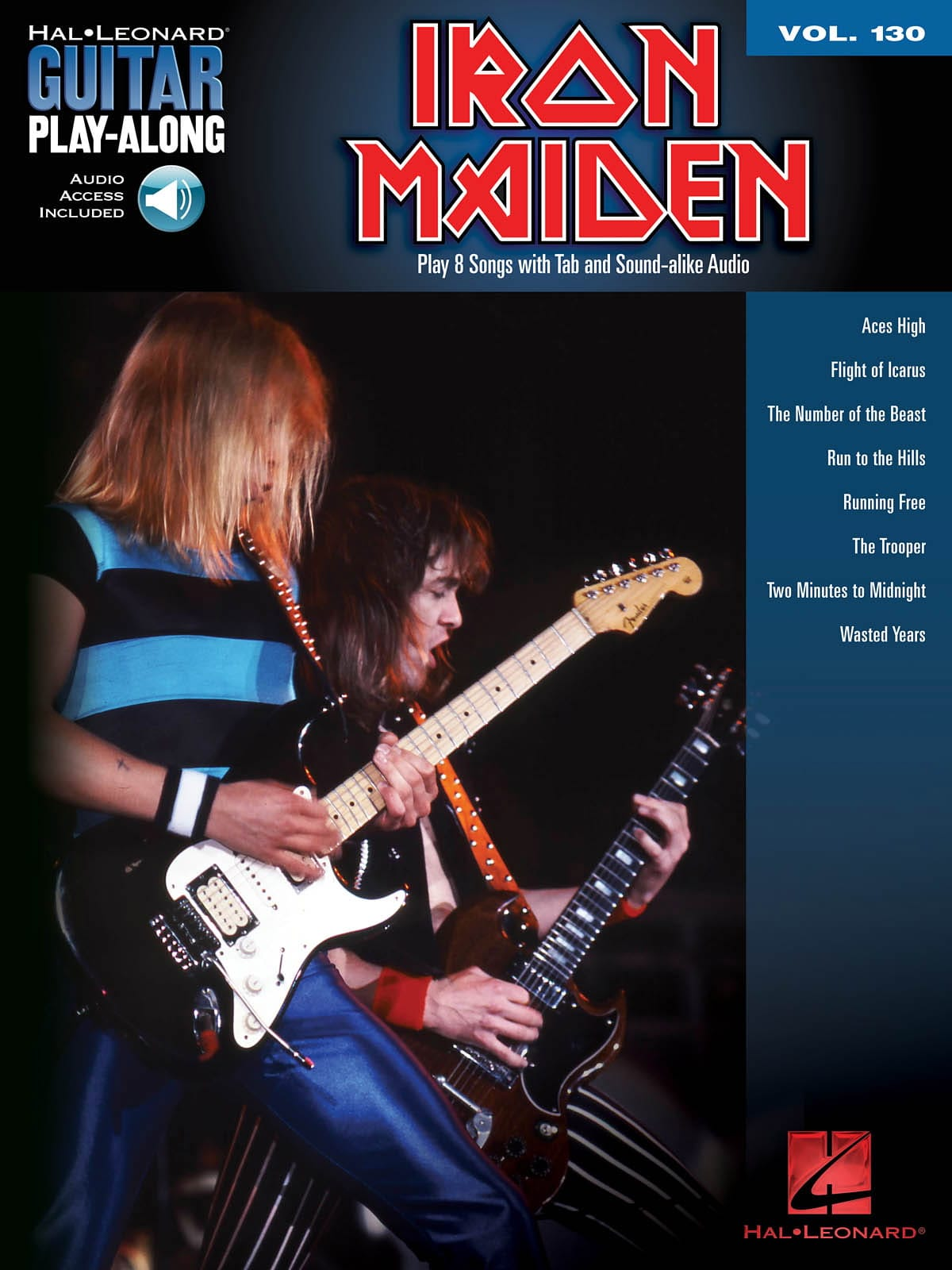 Guitar Play-Along Volume 130 Iron Maiden - laflutedepan.com