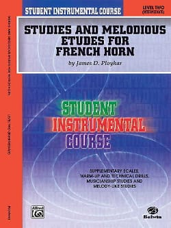Studies & melodious etudes for french horn volume 2 laflutedepan