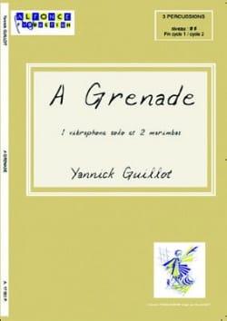 A Grenade Yannick Guillot Partition laflutedepan