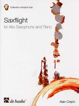Saxflight Alain Crepin Partition Saxophone - laflutedepan