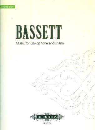 Music Leslie Bassett Partition Saxophone - laflutedepan