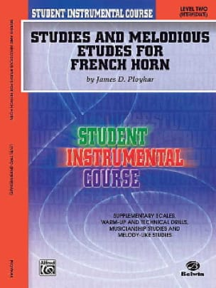 Studies & melodious etudes for french horn volume 2 - laflutedepan.com