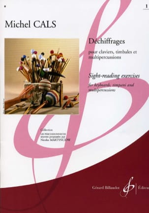 Déchiffrages Volume 1 Michel Cals Partition Xylophone - laflutedepan