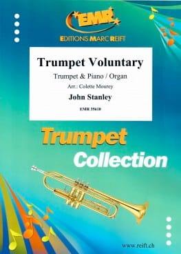 Trumpet Voluntary John Stanley Partition Trompette - laflutedepan