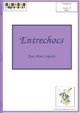 Entrechocs - Jean-Marc Lajudie - Partition - laflutedepan.com