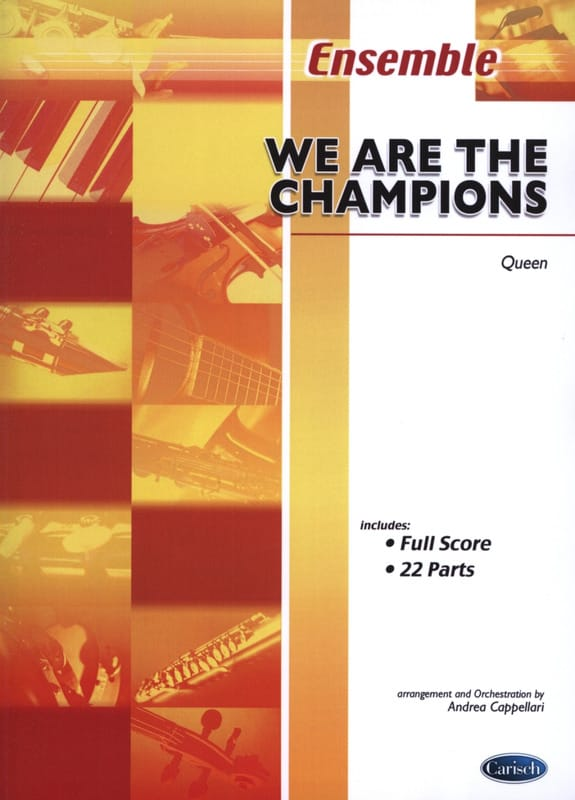 We Are The Champions - Queen - Partition - laflutedepan.com