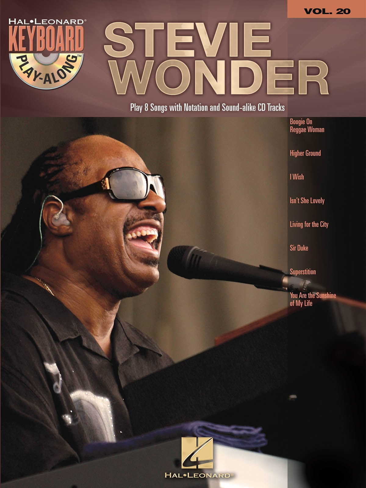 Keyboard Play-Along volume 20 - Stevie Wonder - laflutedepan.com