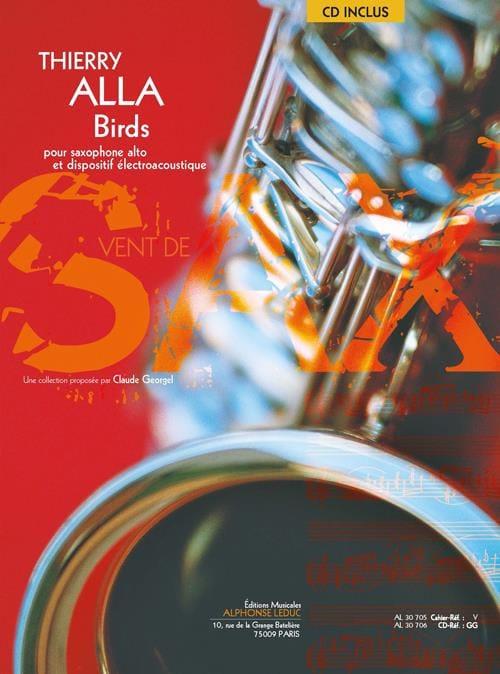 Birds - Thierry Alla - Partition - Saxophone - laflutedepan.com