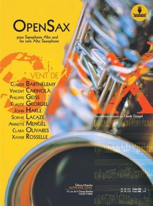 OpenSax - Volume 1 Partition Saxophone - laflutedepan