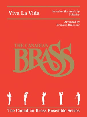 Viva La Vida For Brass Quintet - The Canadian Brass - laflutedepan.com