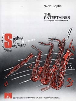 The Entertainer JOPLIN Partition Saxophone - laflutedepan