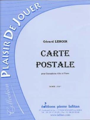 Carte Postale - Gérard Lenoir - Partition - laflutedepan.com