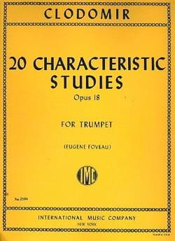 20 Characteristic Studies Opus 18 laflutedepan