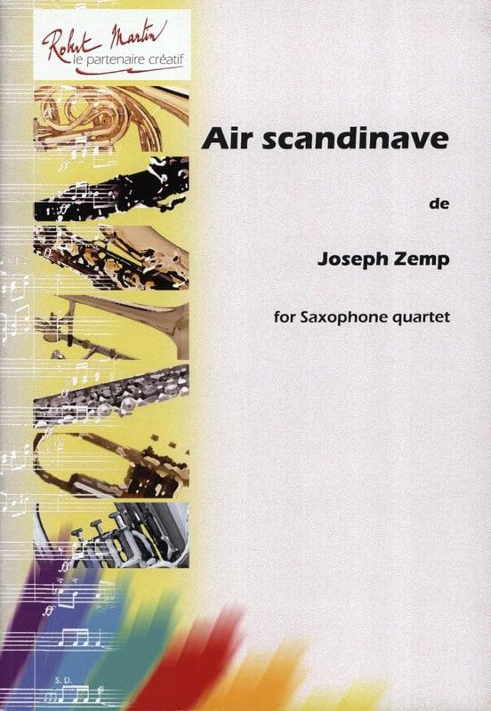 Air Scandinave - Joseph Zemp - Partition - laflutedepan.com