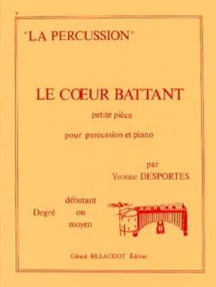 Le Coeur Battant - Yvonne Desportes - Partition - laflutedepan.com