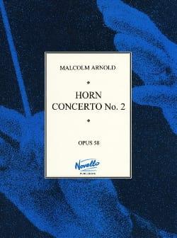 Horn Concerto N° 2 Opus 58 Malcolm Arnold Partition Cor - laflutedepan